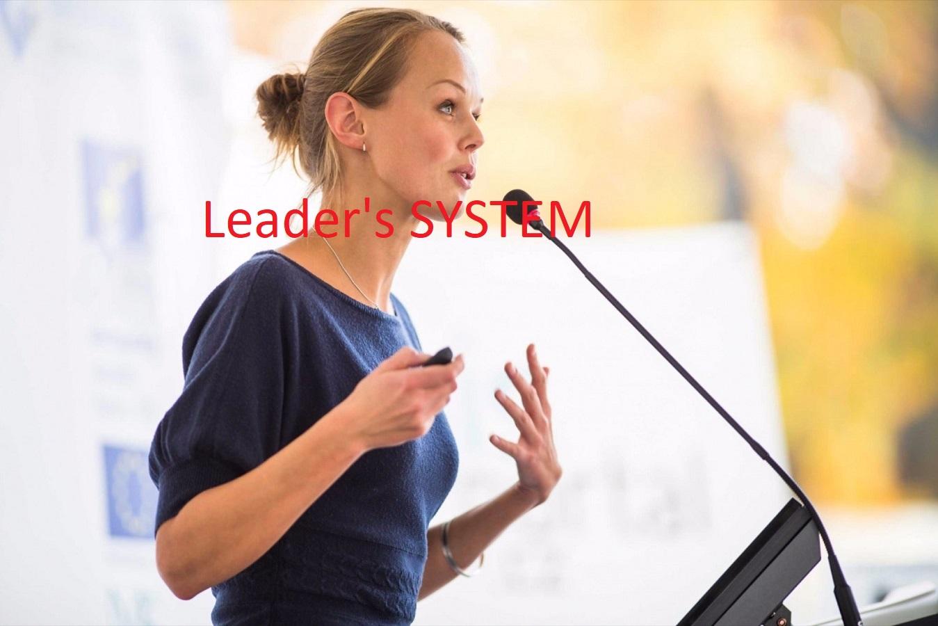 Leader's SYSTEM